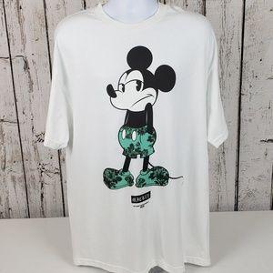 NWT Neff Disney Mickey Mouse XL Shirt